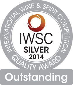 IWSC 2014 Torfa Silver Outstanding Medal